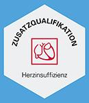 Logo DGK Zusatzqualifikation Herzinsuffizienz