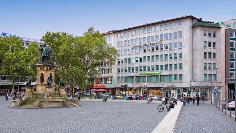 Kardiocentrum Frankfurt Praxis Innenstadt Roßmarkt - Aussenansicht