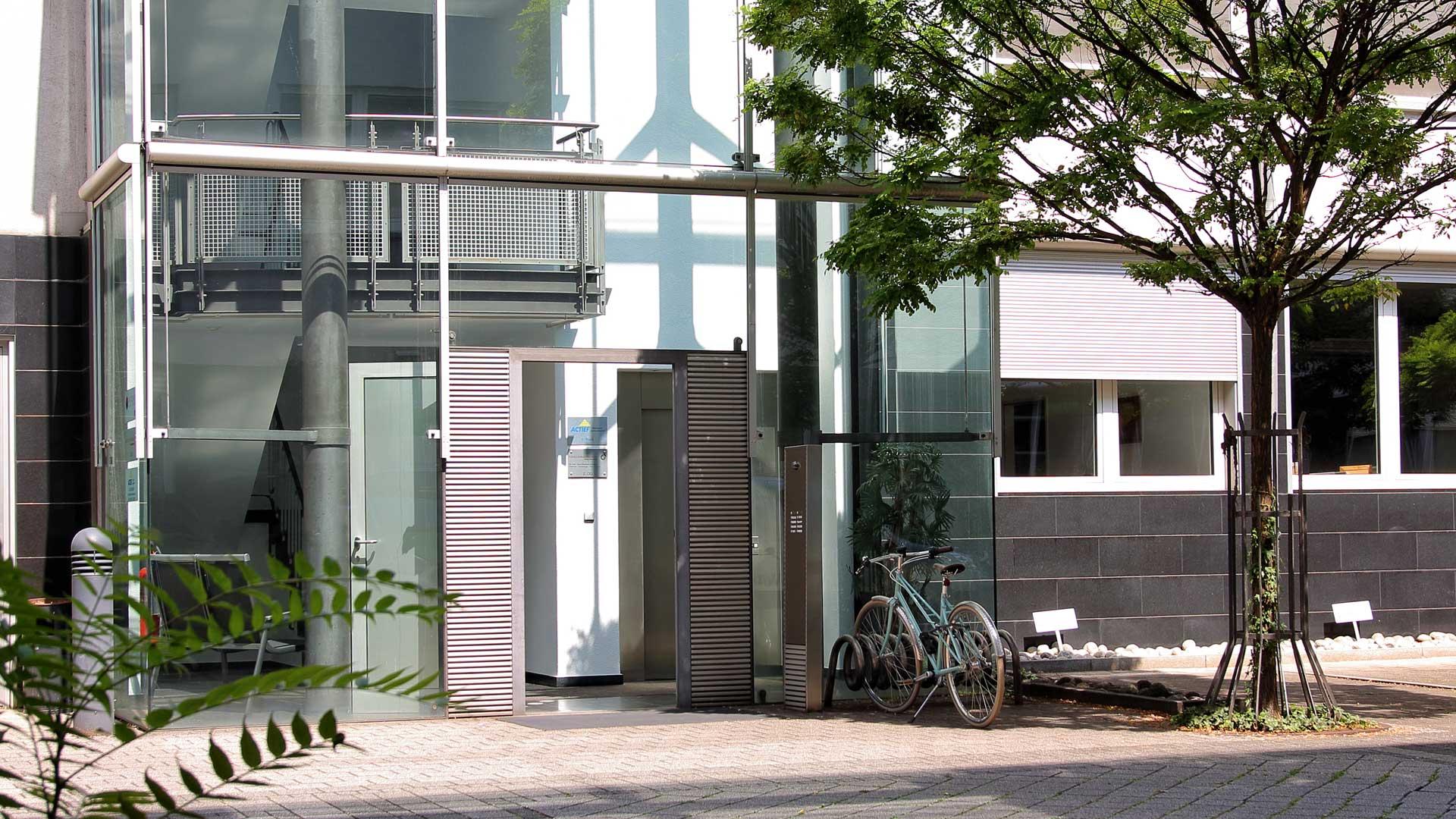 Kardiocentrum Frankfurt Praxis Offenbach, Luisenstraße, Eingangsbereich