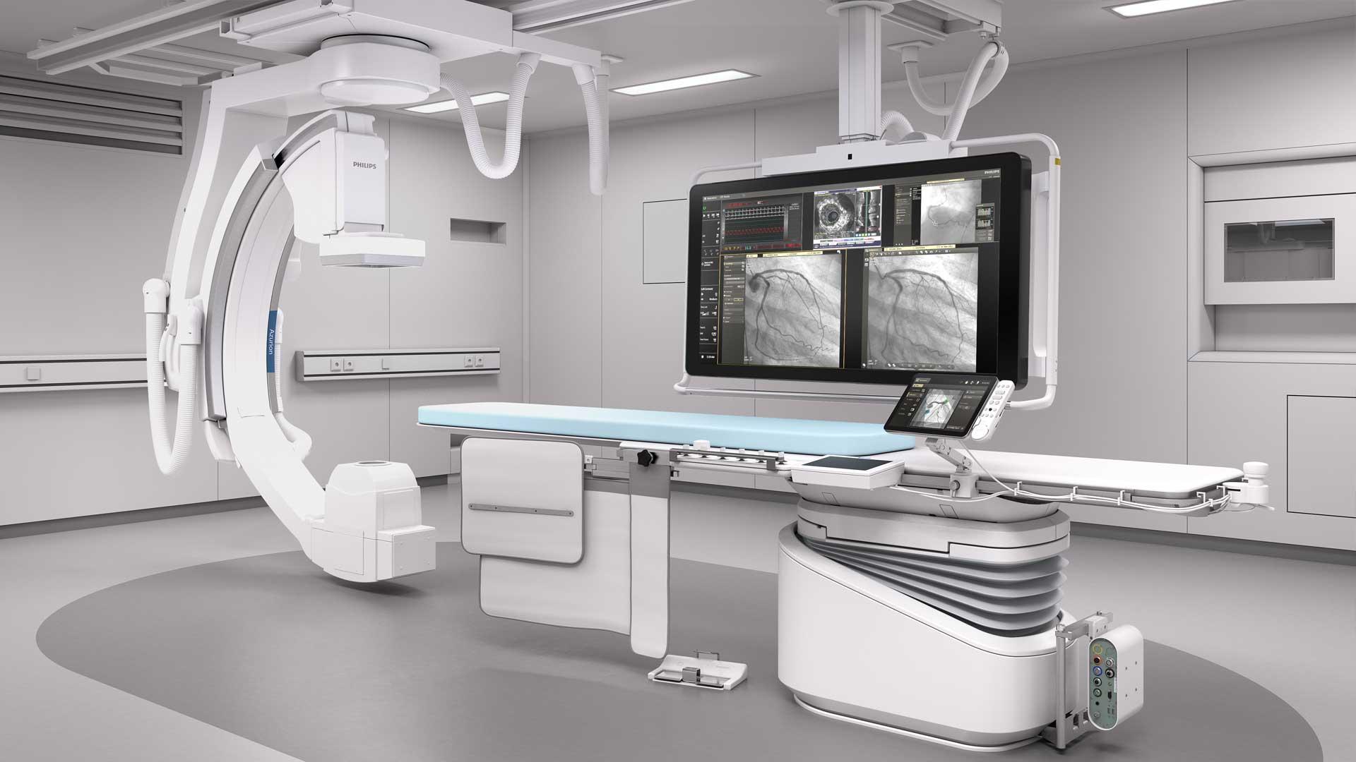 Kardiocentrum Frankfurt Herzkatheterlabor Azurion 7 C12 OR PCI