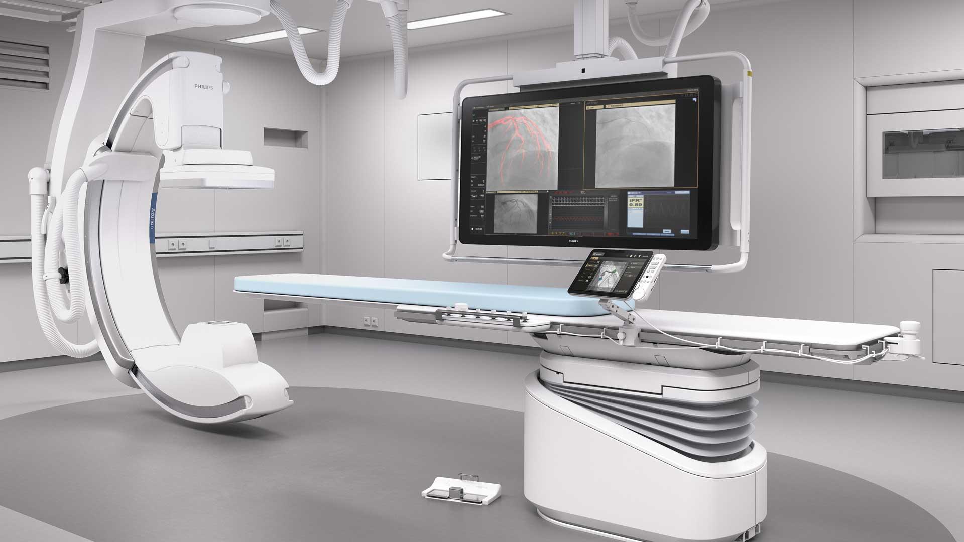 Kardiocentrum Frankfurt Herzkatheterlabor Azurion 7 C20 OR Flexvision