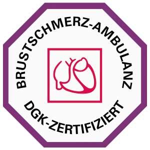 Logo DGK Brustschmerz-ambulanz