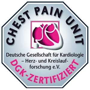 Logo DGK Chest Pain Unit CPU