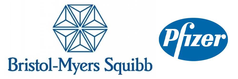Logo Bristol-Myers-Squibb Pfizer